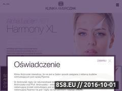 Miniaturka domeny www.klinikaambroziak.pl