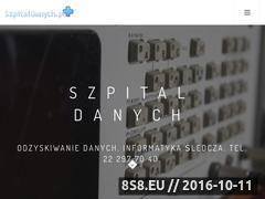 Miniaturka domeny klinikadanych.pl