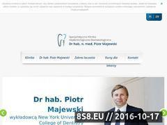 Miniaturka domeny www.klinikaimplantologii.pl