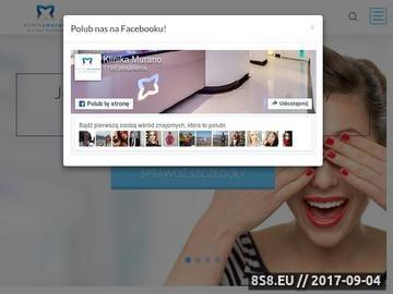 Zrzut strony Powiększanie ust Warszawa