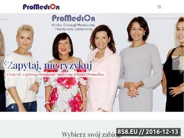 Zrzut strony Klinika Promedion