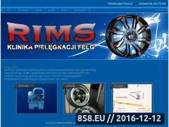 Miniaturka domeny www.klinikarims.pl