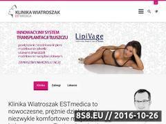 Miniaturka domeny www.klinikawiatroszak.pl