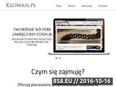 Miniaturka domeny www.klowan.pl