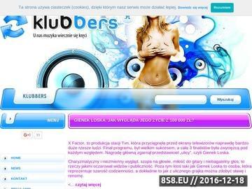 Zrzut strony Klubbers.pl - DARMOWE MP3 do pobrania