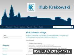 Miniaturka domeny www.klubkrakowski.pl