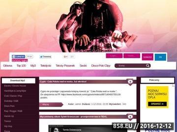 Zrzut strony Darmowe MP3 czyli mp3 do pobrania i wyszukiwarka mp3 - KlubowaMuza.Eu
