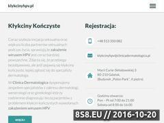 Miniaturka domeny klykcinyhpv.pl