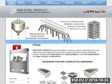 Zrzut strony Kratki ściekowe - KMB STEEL PRODUCT