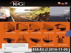 Miniaturka Serwis i sprzedaż naczep (www.kmgtruck.pl)