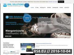 Miniaturka domeny www.kmlsolutions.pl