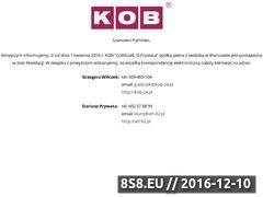 Miniaturka domeny www.kob.pl