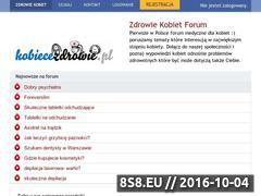 Miniaturka domeny www.kobiecezdrowie.pl