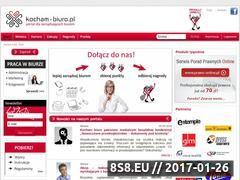 Miniaturka domeny www.kocham-biuro.pl
