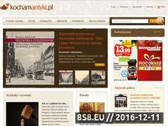 Miniaturka domeny www.kochamantyki.pl