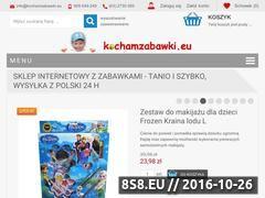 Miniaturka domeny www.kochamzabawki.eu