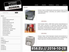 Miniaturka domeny www.kodem.com.pl