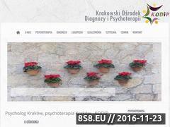 Miniaturka Krakowski Ośrodek Diagnozy i Psychoterapii (www.kodip.pl)