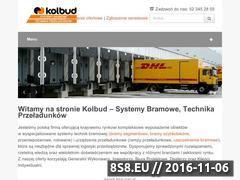 Miniaturka domeny www.kolbud.pl