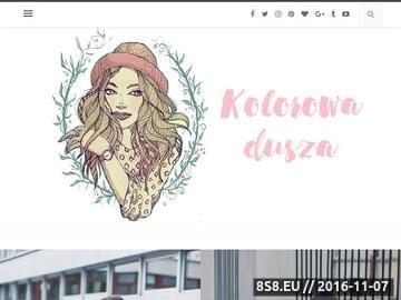Zrzut strony Prezentuję stylizacje, trendy w modzie, blog modowy oraz podróże