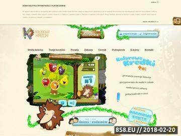 Zrzut strony Gry dla dzieci - puzzle