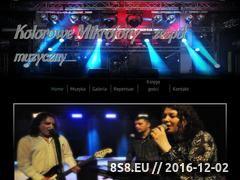 Miniaturka domeny www.kolorowemikrofony.pl