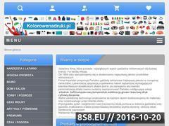 Miniaturka domeny www.kolorowenadruki.pl