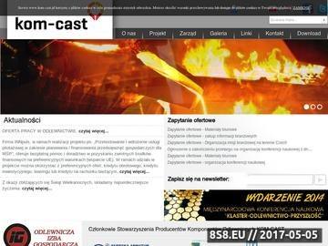 Zrzut strony Klaster Kom-Cast - firmy odlewnicze