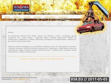 Zrzut strony Ko-Ma - przetwarzanie sprzętu RTV