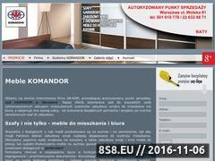 Miniaturka domeny www.komandor-wolska.pl