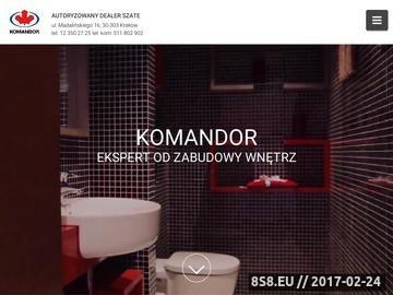 Zrzut strony Komandor Kraków - KomandorPolska.pl