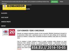 Miniaturka domeny www.komandorszafy.com