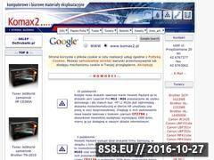 Miniaturka domeny www.komax2.pl