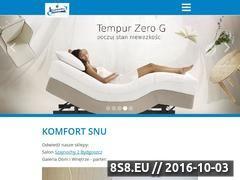 Miniaturka domeny www.komfortsnu.pl