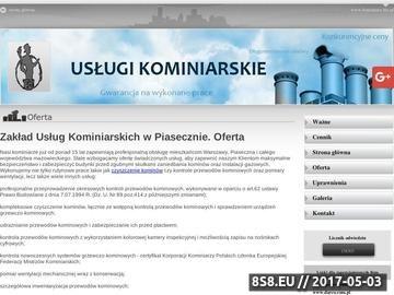 Zrzut strony Zakład usług kominiarskich