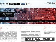 Miniaturka domeny kominiarzwarszawa.pl