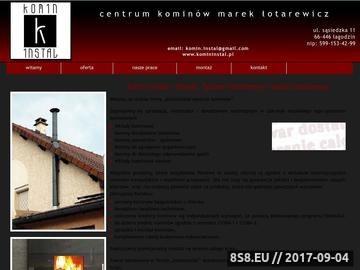 Zrzut strony Komin Instal - prace wysokościowe Gorzów