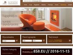 Miniaturka domeny www.kominkiskandynawskie.pl