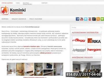 Zrzut strony Projektowanie i montaż kominków