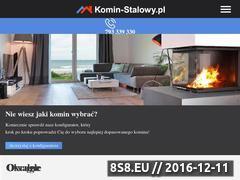 Miniaturka domeny www.kominstalowy.pl