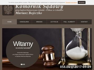 Zrzut strony Licytacje komornicze Gdańsk
