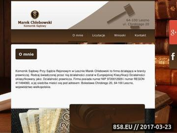 Zrzut strony Komornik Sądowy Rewiru III Egzekucja w sprawach cywilnych