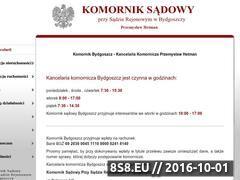 Miniaturka domeny komornik.bydgoszcz.eu