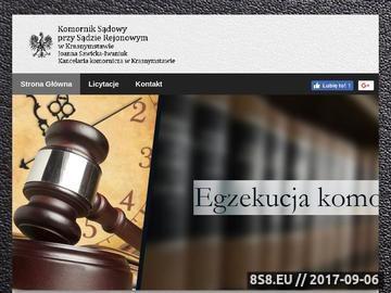 Zrzut strony Sawicka-Iwaniuk wnioski egzekucyjne