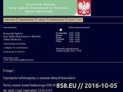Miniaturka domeny komornikrybnik.net