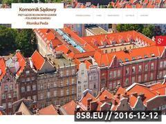 Miniaturka domeny www.komorniksadowygdansk.com.pl