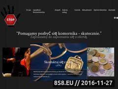 Miniaturka domeny komornikstop.pl