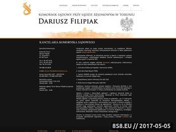Zrzut strony Komornik Inowrocław