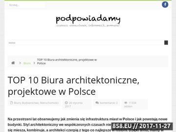 Zrzut strony Biuro projektowe Komorowska Kronenberg Architekci