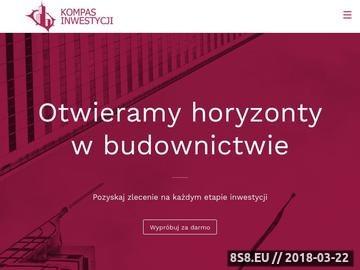 Zrzut strony Inwestycje Warszawa